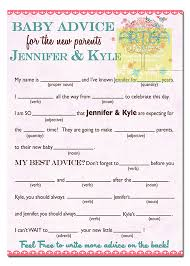 baby mad libs tree and birds baby shower mad lib tree baby girl shower