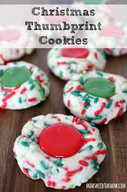 easy christmas thumbprint cookies moms need to know