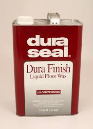 dura seal durafinish liquid wax for hardwood floors coffee brown