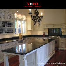 white kitchen cabinets with black countertops economical kitchen furniture factory white cabinets black countertop