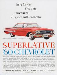 this print ad for the 1960 impala sport coupe is the most