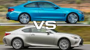 2016 lexus rc 200t coupe review 2016 lexus rc 200t f sport vs 2017 bmw 440i m sport coupe youtube