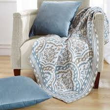 3 piece throw blanket and throw pillow shell sets blissful comforts