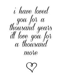 wedding quotes lyrics a thousand years lyrics printable wedding song by simplychichomes