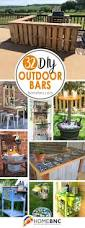 Bar Decor Ideas Best 25 Outdoor Bars Ideas On Pinterest Patio Bar Diy Outdoor