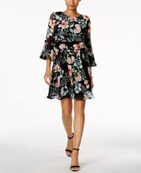 bell sleeve dress shop for and buy bell sleeve dress online macy u0027s