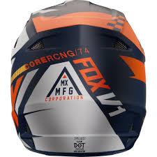 fox v1 motocross helmet fox v1 sayak helmet 2018 mxweiss motocross shop