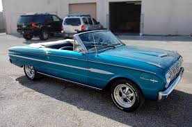 1963 blue ford falcon sprint convertible repinned by www