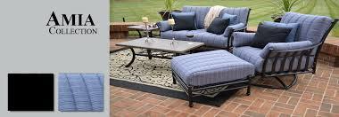 elegant outdoor furniture seating view all cast aluminum patio