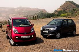 tata nano genx vs maruti alto k10 amt shootout review