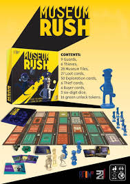 room 17 games announces a new museum heist game called museum rush