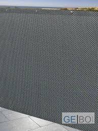 sichtschutz balkon grau rattan sichtschutz balkonblende sichtschutz silber grau