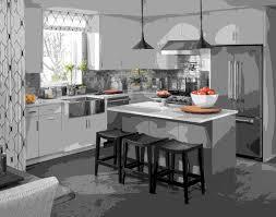 les mod鑞es de cuisine marocaine modele de cuisine moderne avec ilot modele de cuisine moderne