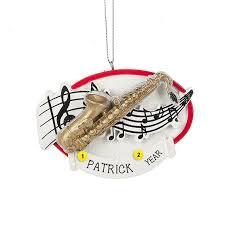 saxophone ornament ornaments callisters callisters