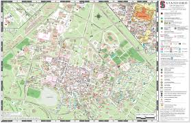 American University Campus Map Visitor Parking Stanford Parking U0026 Transportation Services