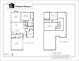 the cape cod home plans dalamar homes