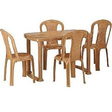 nilkamal kitchen furniture nilkamal plastic dining table with 4 chair set buy nilkamal