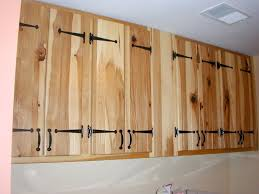 Knotty Hickory Kitchen Cabinets Handmade Hickory Kitchen And Utility Cabinets By The Plane Edge