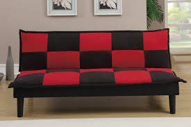 Black And Red Sofa Set Designs Red Fabric Twin Size Sofa Bed Steal A Sofa Furniture Outlet Los