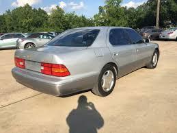 pre owned lexus houston texas 1998 lexus ls 400 luxury sdn 4dr sedan sedan for sale in houston