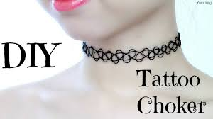 choker necklace tattoo images Diy tattoo choker jpg