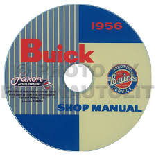 1956 buick repair shop manual original