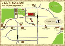 Edinburgh Map Edinburgh Things To See And Do A Visitor U0027s Guide