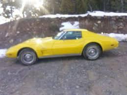1976 corvette yellow 1976 corvette stingray t top yellow condition for sale