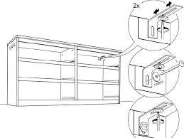 Ikea Malm Bed Frame Instructions Ikea Malm Dresser Assembly 10054