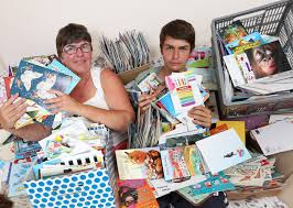 autistic child receives 8 000 birthday cards after mum u0027s online appeal