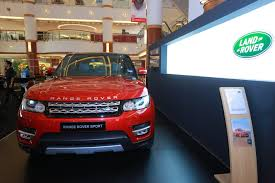 kereta range rover sisma auto announces land rover sales and service at its glenmarie