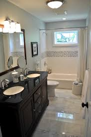 bathroom minimalist decorating ideas using rectangular brown rugs