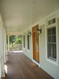 Exterior Beadboard Porch Ceiling - pvc tongue and groove bead board houzz