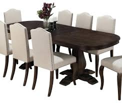 Espresso Pedestal Dining Table Dining Table Butterfly Leaf Sets Hardware Espresso Oval Room With