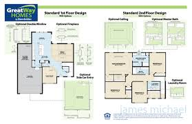 craftsman floor plan craftsman designs greatway homes