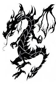 tattoo dragons clipart 88