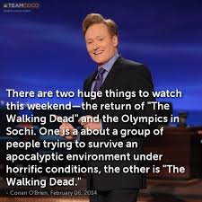 Sochi Meme - joke there are two huge things to watch this weekend conan o