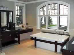 contemporary guest bathroom ideas polish brown plastic swing door