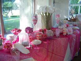 Pink Wedding Candy Buffet by Candy Buffets For Kids Party And All Occasions Whitestone Queens