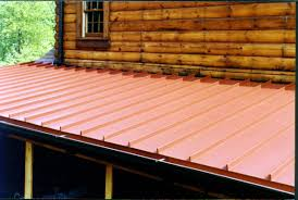 Cost Of A Copper Roof by Roofing Metal Standing Seam Roof Standing Seam Metal Roof