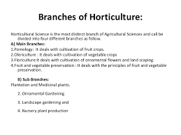 fundamental of horticulture part 1