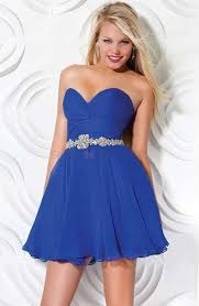 long royal blue bridesmaid dress ideal weddings
