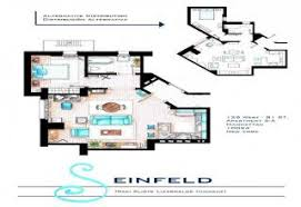 seinfeld apartment floor plan 10 detailed floor plans of tv show apartments gallery ebaum s