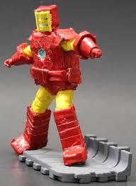 invincible iron man halloween costume iron man figure inque