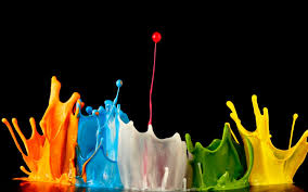 colors splash paint splash black background hd wallpapers rocks
