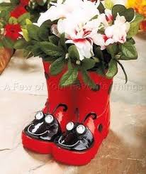 adorable rain boot planter ideas planters olds and spring