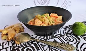 utilisation du lait de coco en cuisine curry de poisson au lait de coco et aux epices saveur thaïe ma