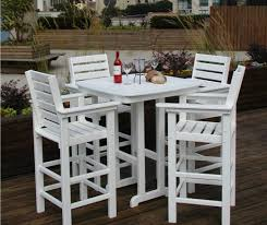 furniture pleasing wood patio furniture with bench splendid