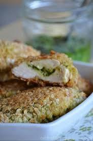 recettes maxi cuisine des croustillants de poulet aux flocons d avoine et pesto de blettes