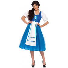storybook village belle halloween costume beauty and the beast